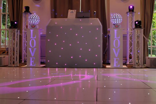 Wedding DJ Services - Starlit Dancefloors