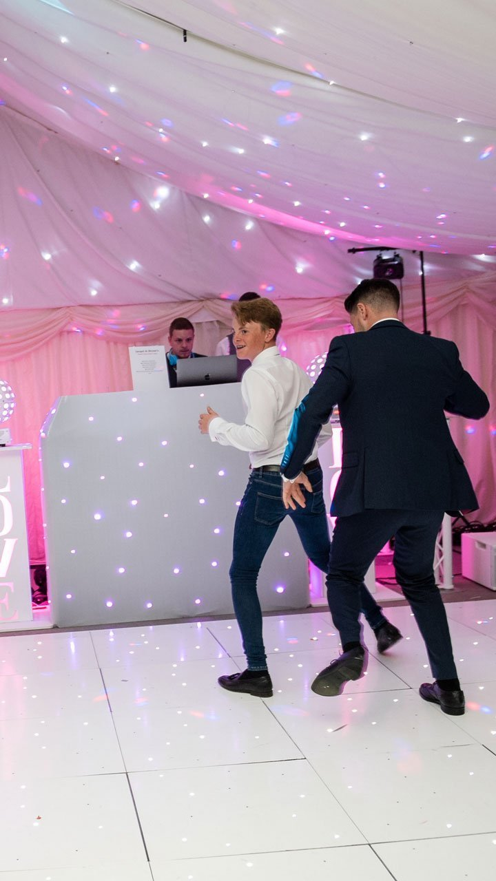 Fun and games at a Hayne House wedding - Wedding DJ Ben Bell