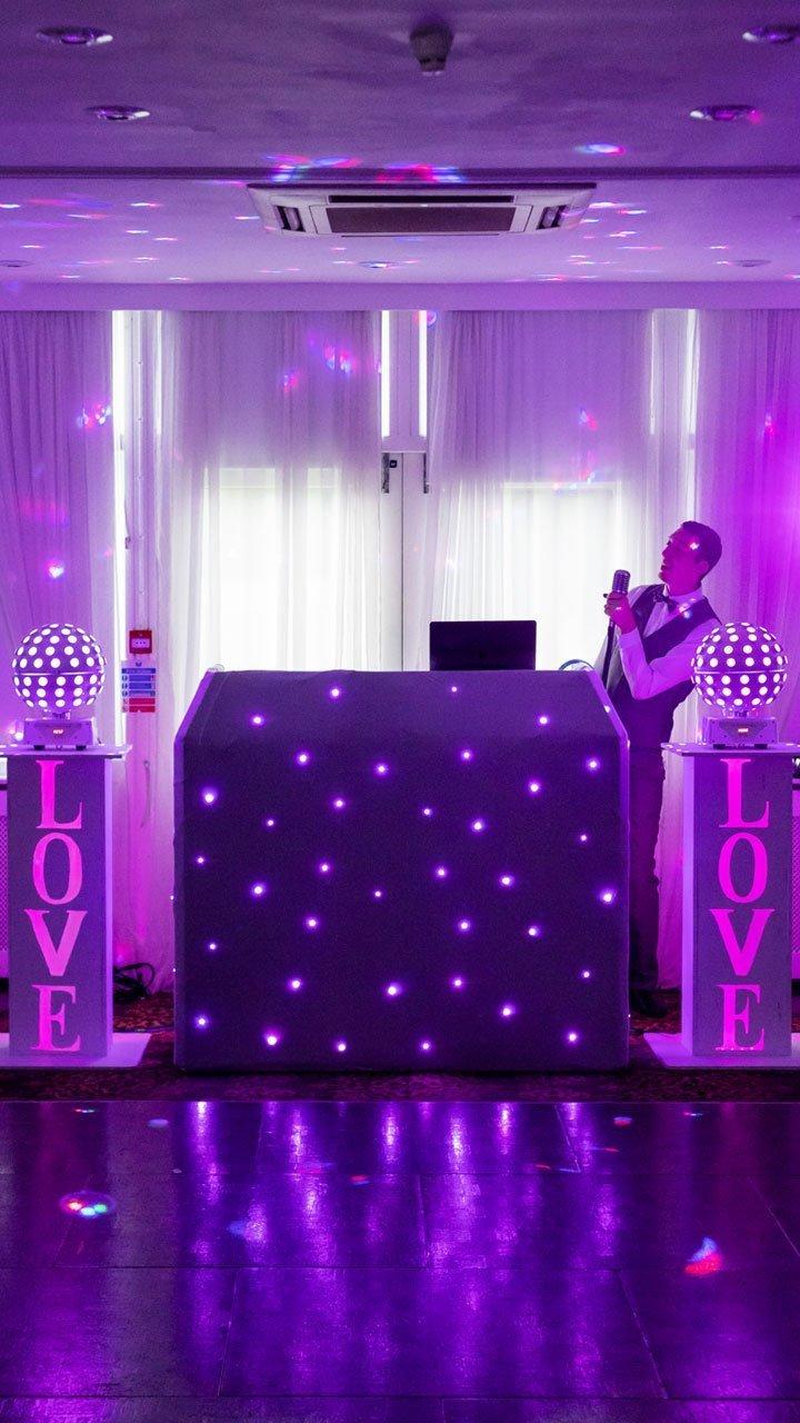 Chilston Park Wedding DJ Fun